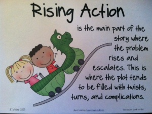Plot-Rising action