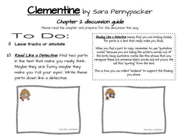 Clementine ch 2